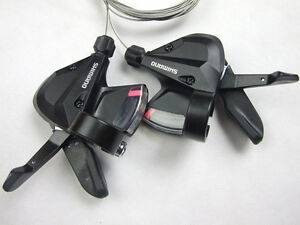 Shimano-ALTUS-SL-M310-3X8-24-Speed-Gear-Lever-Shifters-Bicycle-Cycling-MTB-Black