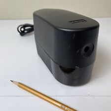X Acto Electric Pencil Sharpener Model 1924x Black Tested Works Well