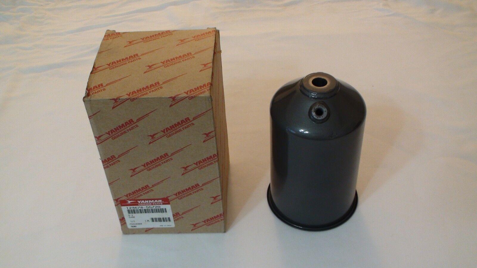 YANMAR 41650-550310 123678-55720 caja del filtro de combustible Tazón de fuente vivienda 6LY2A Ste STP 6LY