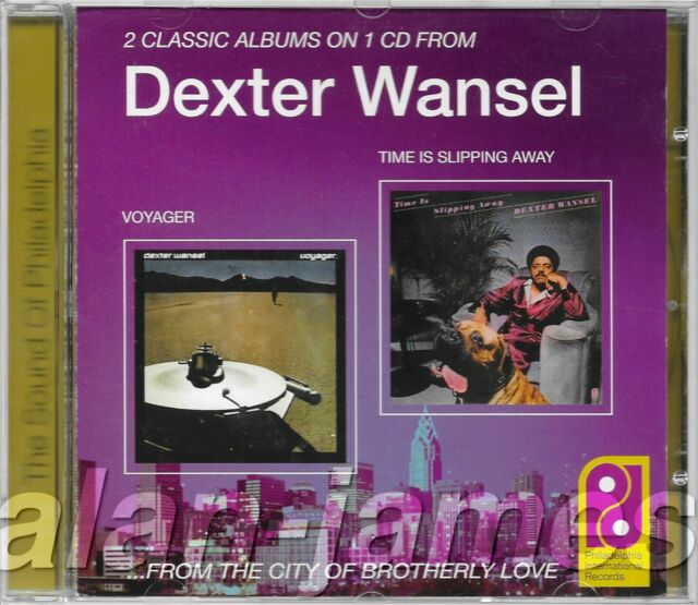 Dexter Wansel VOYAGER Time Is Slipping Away 1999 2 on 1 UK CD