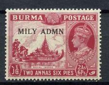 Burma 1945 SG#42, 2a6p KGVI Optd Mily Admn MNH #C87