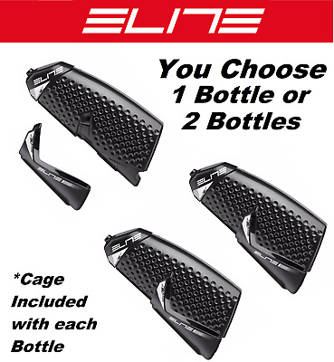 fiberglass bottle cage 500 ml Elite bike aero waterbottle crono cx kit