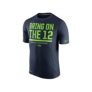 d7ec749cb Nike Men s Seattle Seahawks Local Legend Verbiage T-Shirt NAVY ...