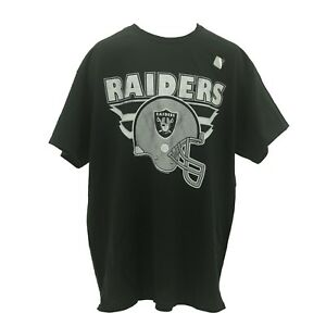 NFL-Oakland-Raiders-Adult-Size-Team-Apparel-Official-T-Shirt-New-NO-Tags