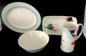 Lenox-Manarola-China-4-Piece-Accesssory-Serving-Set-New-No-Box