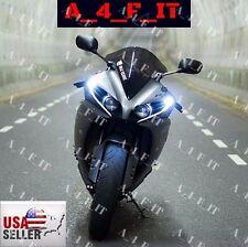 LED Street Fighter Front Fairing DRL Lights Buell EBR FZ-09 FZ-07 Monster Amber