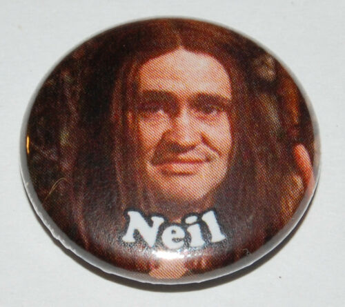 1 inch RIK MAYALL ADE EDMONDSON THE YOUNG ONES Button Badge 25mm