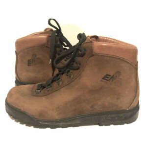 EMS-Womens-9-5-Nubuck-Leather-Hiking-Mountaineering-Boots-ITALY-Vibram-Shoes