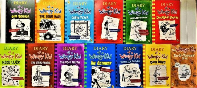 Diary of a Wimpy Kid 13 Books Collection Set Brand New Free P & P