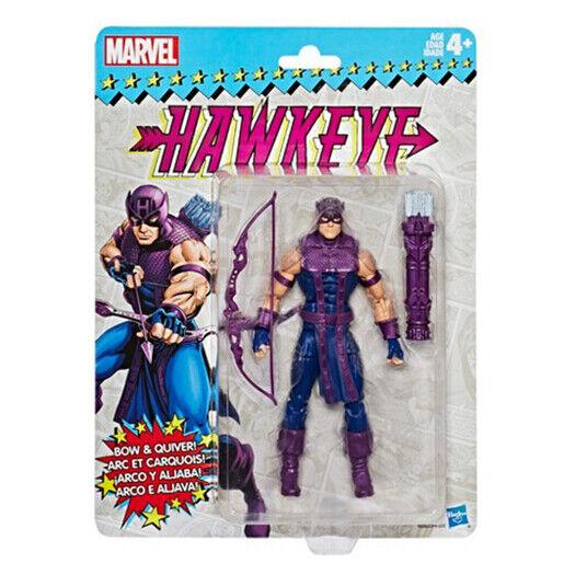 Marvel Legends Vintage Hawkeye 6-Inch Action Figure NIB