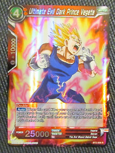 BT2-009 R Dragon Ball Super Ultimate Evil Dark Prince Vegeta