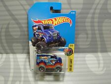 2017 HOT WHEELS ''HW ART CARS'' #161 = MONSTER DAIRY DELIVERY = BLUE  int