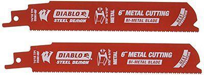 "Freud Ds0614bf2 Steel Demon Bi-metal Reciprocating Blade, 6"""