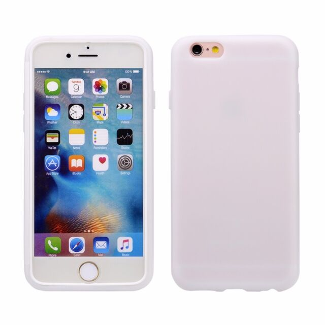 new concept 3a81b 97b5b TPU Flip Gel Case Cover for Apple iPhone 6, 6S 4.7Inch - Strong & Hard  Wearing