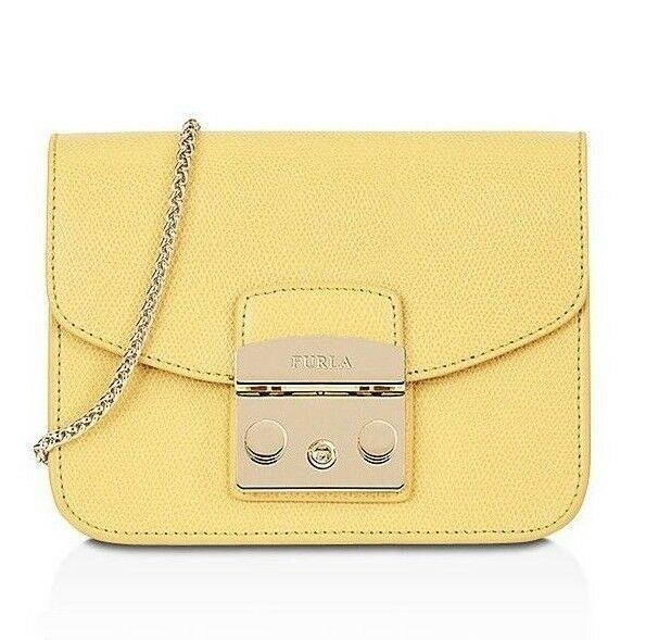 Woman Bag Furla Metropolis Mini Crossbody Leather Shoulder Cedro C 920311  for sale online | eBay