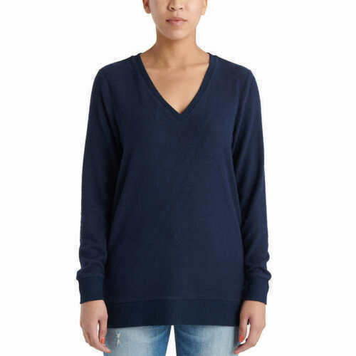 Lucky Brand Ladies V-Neck Tunic Knit Sweater Lightweight Variety Size//Colors NEW