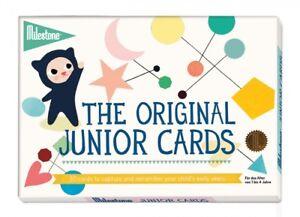 Baby Milestone Junior Cards Babytagebuch Fotoalbum Baby Kinder Babyalbum Karten Foto Moderater Preis Bücher & Zeitschriften
