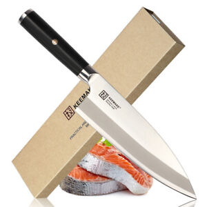 Deba-Chef-039-s-Knives-Japanese-Fish-Head-Kitchen-Knife-Stainless-Steel-Slicer-Cut
