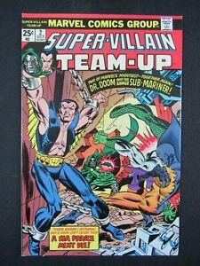 Super Villain Team-Up #2 (1975) Dr. Doom Sub-Mariner VF/NM 9.0 LL709