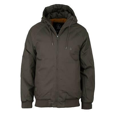Volcom NEW Men/'s Hernan 5K Jacket Lead BNWT