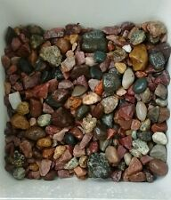 5 lbs Natural Ruby Red. With Aquarium  Gravel, color Stones. Free shipping