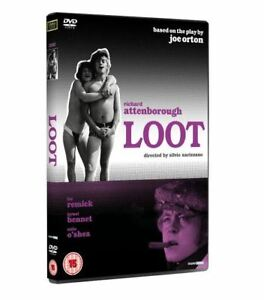 Loot-1970-DVD-Richard-Attenborough-Lee-Remick-New-Factory-Sealed