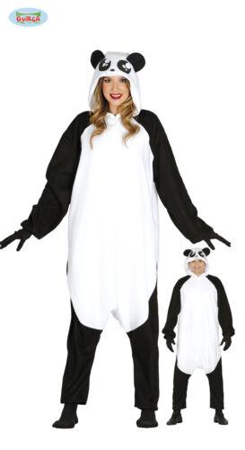84612 GUIRCA Costume kigurumi panda animali carnevale uomo donna  mod