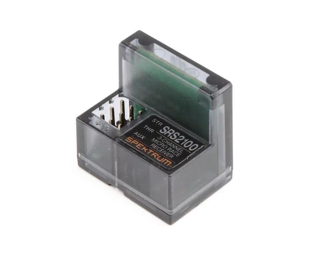 Spektrum RC SR2100 Micro 3-Channel DSMR Race Surface Receiver