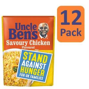 12 X 250g Uncle Ben S Microwave Savoury