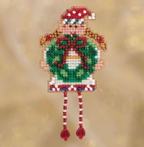 Mill Hill Ornamento de vacaciones de invierno//Kit De Imán-Varios Diseños para Elegir
