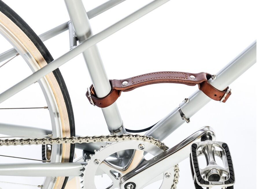 DUCAS Leather Carry  on Handle for Bicycle brown. Vintage, Fixed gear bike  up to 70% off