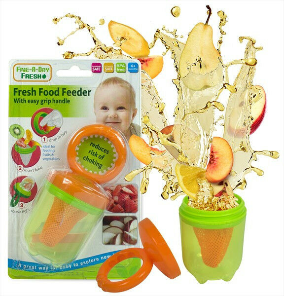 Rfs520 Fresh Food Feeder With Easy Grip Handle In 2 Colours 5204