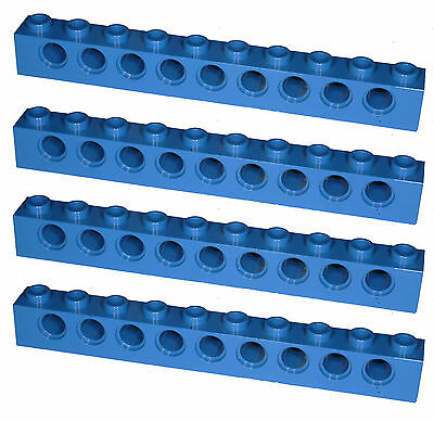 Missing Lego Brick 4262 OldGray x 4 Technic Plate 1 x 6 with Holes