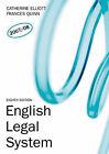 English Legal System by Catherine Elliott (Paperback, 2007)