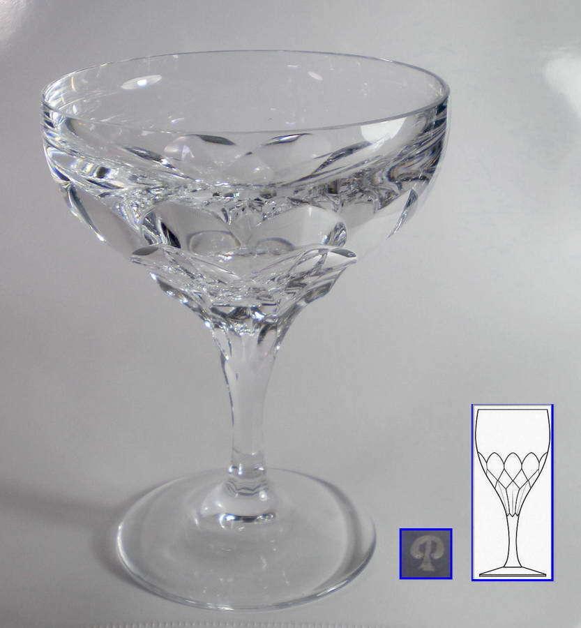 Peill & Putzler 6 X Sektschale   Messina Kristall