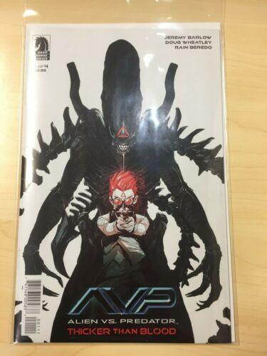 ALIENS VS PREDATOR THICKER THAN BLOOD 1 NM Dark horse Comics !A