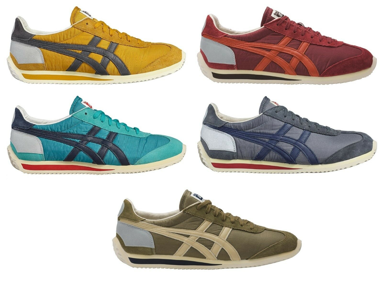 SHOES ASICS ONITSUKA TIGER CALIFORNIA 78 - MEXICO 66 LIMITED EDITION VINTAGE