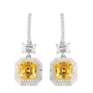 LUSTRO-STELLA-925-Sterling-Silver-Cubic-Zirconia-CZ-Dangle-Drop-Earrings-Gift