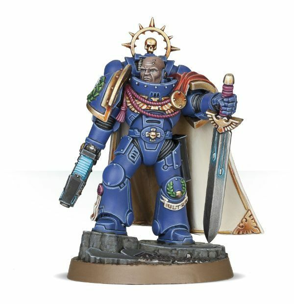 Space Marine Heroes Bredher-Captain Thassarius Japan Only Limited