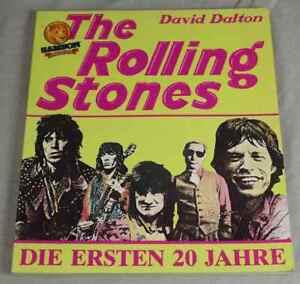 Buch-THE-ROLLING-STONES-Die-ersten-20-Jahre-David-Dalton-1982-S270