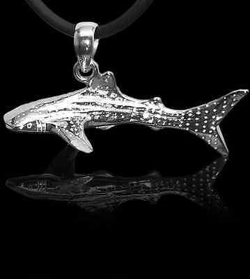 Taucherschmuck aus 925er Silber Baruna Silver Anhänger Charms Walhai klein