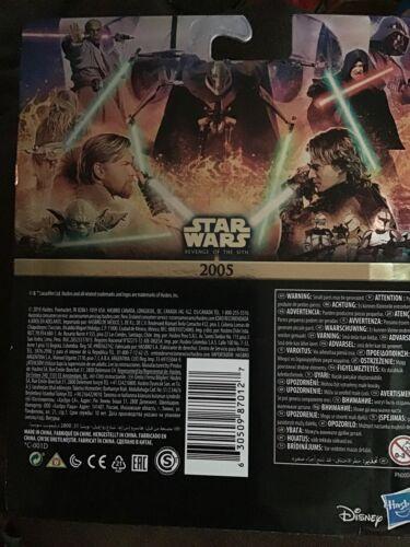 Obi-Wan Kenobi And Anakin Skywalker Star Wars Gold Commemorative Edition NEW!!