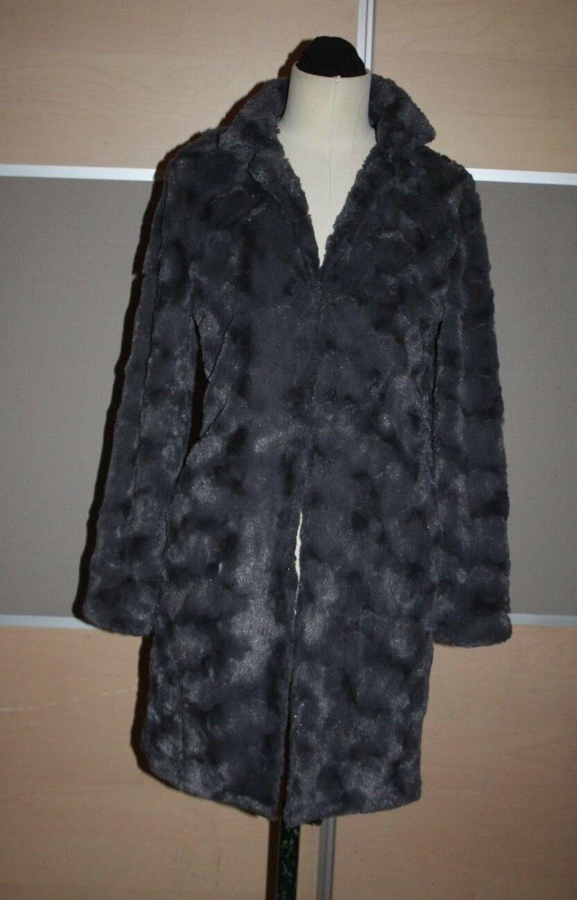 STEFFEN SCHRAUT, Brandaktueller Fake Fur Pelz Mantel, Gr. S, 1 x getragen, EDEL