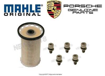 Porsche Cayenne V6 3.0L 2013-2016 Diesel Fuel Filter Mahle 95811013410 NEW