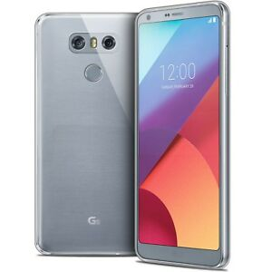 Coque Lg G6 Crystal Souple Tpu Gel Transparent Extra Fin 1mm
