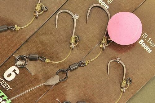 3 x KORDA HINGE READY TIED RIGS IQ2 CHODDY SIZE 8 BARBLESS FOR CARP FISHING