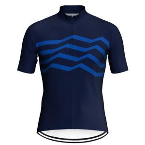 Mens Top Cycling Jersey Short Sleeve Jacket Mountain Road MTB Bike Shirt Maillot
