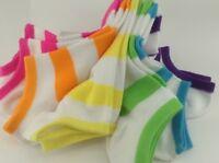 Women's Espirit Brand Bright Colors Casual Socks - 6 Pack - $36 Msrp - 30% Off