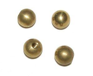 KUGELMUTTERN-Kugelmutter-Mutter-Messing-10-mm-M3-oder-M4-Gewinde-Ziermutter