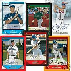 New 2007 Bowman MLB Baseball Jumbo Pack Sealed 32 Cards